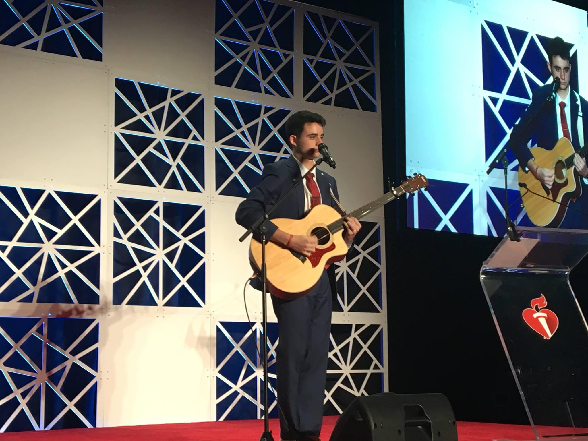 Jason Singing Photo